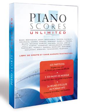 DVD piano score 300 NOTY