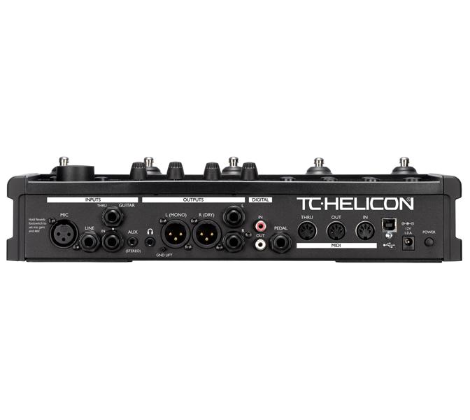 VoiceLive2 3 TC Helicon VOICE LIVE 2, hlasový harmonizér