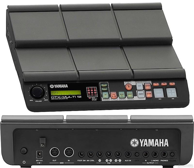 Yamaha DTX Multi 12 Yamaha DTX M12