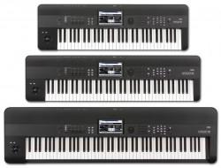 KORG KROME 61- 73 polovyvážena klaviatúra -88 kladivková