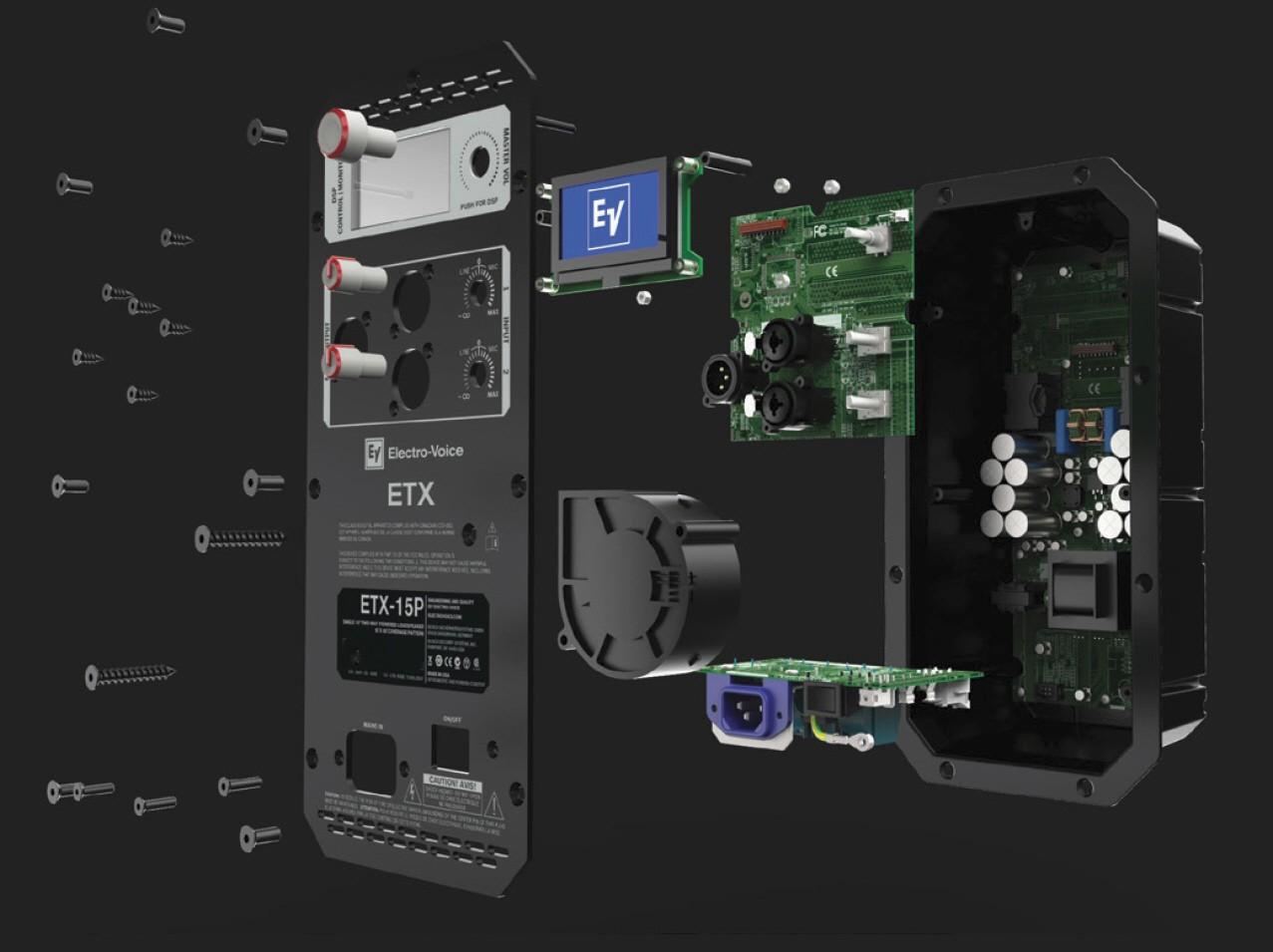 etx elektronika Electro Voice ETX 15P