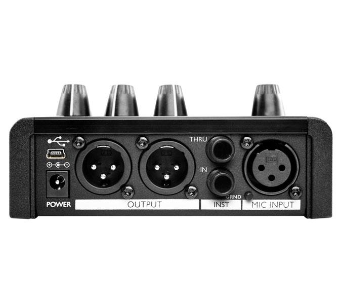 voicetone harmony g xt rear TC Helicon VoiceTone Harmony G XT,harmonický pedál
