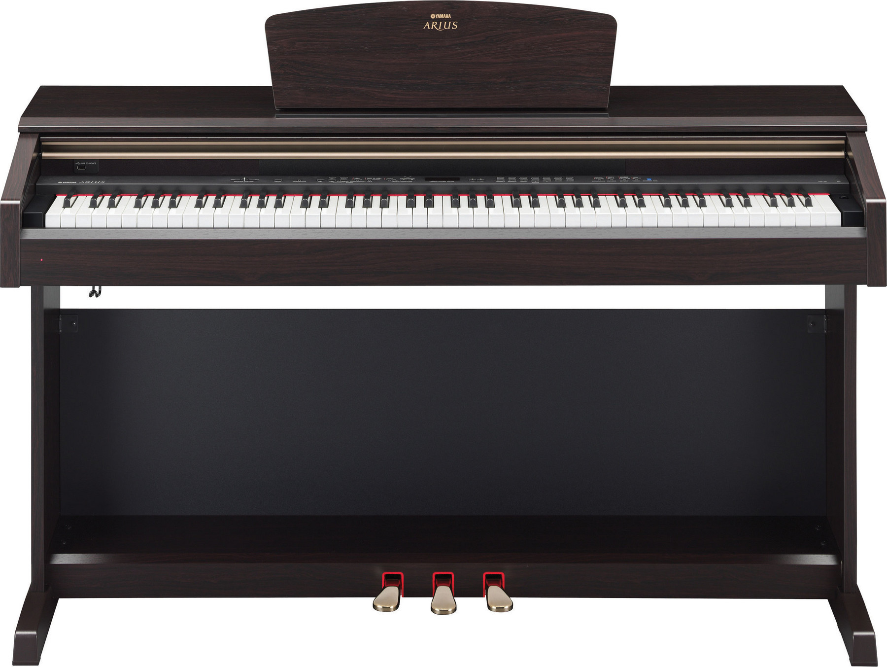 yamaha arius ydp 161 digital piano with bench discontinued. Black Bedroom Furniture Sets. Home Design Ideas